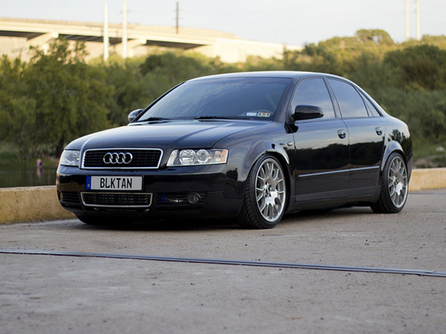 Andy's Black and Tan Audi A4